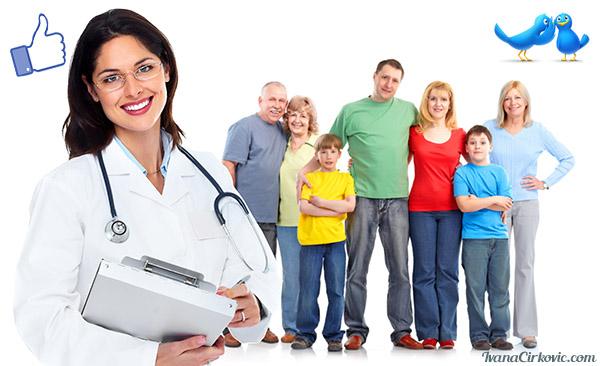 Zdravstvo na društvenim mrežama