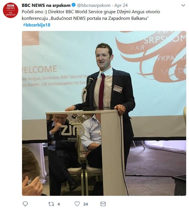 bbc konferencija u Beogradu, otvaranje