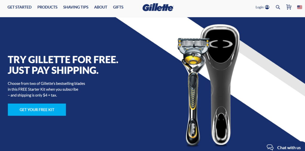prodaja ili marketing gillette primer